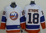 New York Islanders #18 Ryan Strome White Stitched NHL Jersey