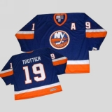 New York Islanders #19 Bryan Trottier Stitched Baby Blue CCM Throwback NHL Jersey
