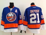 New York Islanders #21 Kyle Okposo Baby Blue Stitched NHL Jersey