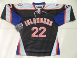 New York Islanders #22 Mike Bossy Black Third Stitched NHL Jersey