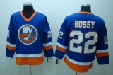 New York Islanders #22 Mike Bossy Stitched Third Light Blue NHL Jersey