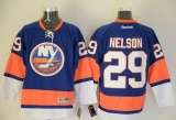 New York Islanders #29 Brock Nelson Baby Blue Stitched NHL Jersey