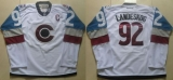 Colorado Avalanche #92 Gabriel Landeskog White 2016 Stadium Series Stitched NHL Jersey
