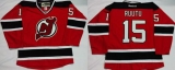 New Jersey Devils #15 Tuomo Ruutu Red Home Stitched NHL Jersey
