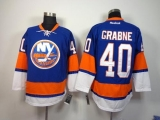 New York Islanders #40 Michael Grabner Baby Blue Home Stitched NHL Jersey