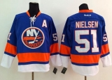 New York Islanders #51 Frans Nielsen Baby Blue Stitched NHL Jersey