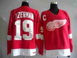 Detroit Red Wings #19 Steve Yzerman Stitched Red NHL Jersey