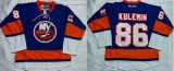 New York Islanders #86 Nikolay Kulemin Baby Blue Home Stitched NHL Jersey