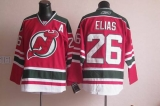 New Jersey Devils #26 Patrik Elias Red Green CCM Team Classic Stitched NHL Jersey
