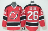 New Jersey Devils #26 Patrik Elias Stitched Red NHL Jersey