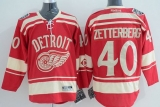 Detroit Red Wings #40 Henrik Zetterberg Red 2014 Winter Classic Stitched NHL Jersey