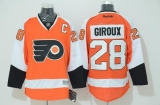 Philadelphia Flyers #28 Claude Giroux Stitched Orange NHL Jersey