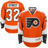 Philadelphia Flyers #32 Mark Streit Orange Home Stitched NHL Jersey