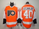 Philadelphia Flyers #40 Vincent Lecavalier Orange Stitched NHL Jersey