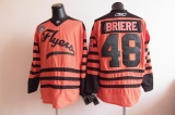 Philadelphia Flyers #48 Daniel Briere Orange 2012 Winter Winter Classic Stitched NHL Jersey