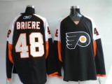 Philadelphia Flyers #48 Danny Briere Stitched Black NHL Jersey