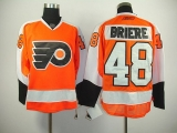 Philadelphia Flyers #48 Danny Briere Stitched Orange NHL Jersey
