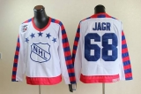 Philadelphia Flyers #68 Jaromir Jagr White All Star CCM Throwback 75TH Stitched NHL Jersey