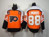 Philadelphia Flyers #88 Eric Lindros Orange CCM Throwback Stitched NHL Jersey