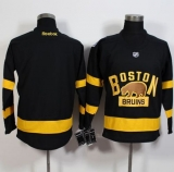 Boston Bruins Blank Black 2016 Winter Classic Stitched NHL Jersey