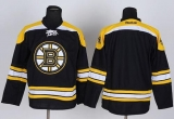 Boston Bruins Blank Stitched Black NHL Jersey