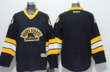 Boston Bruins Blank Stitched Black Third NHL Jersey