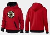 Boston Bruins Pullover Hoodie Red & Black