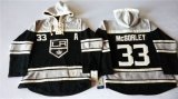 Los Angeles Kings #33 Marty Mcsorley Black Sawyer Hooded Sweatshirt Stitched NHL Jersey