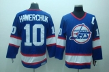 Winnipeg Jets #10 Dale Hawerchuk Stitched Blue CCM Throwback NHL Jersey