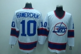 Winnipeg Jets #10 Dale Hawerchuk Stitched White CCM Throwback NHL Jersey