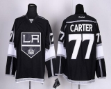 Los Angeles Kings #77 Jeff Carter Black Home Stitched NHL Jersey