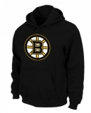NHL Boston Bruins Big & Tall Logo Pullover Hoodie Black