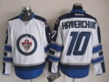 Winnipeg Jets #10 Dale Hawerchuk White Stitched NHL Jersey