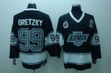 Los Angeles Kings #99 Wayne Gretzky Black CCM Throwback Stitched NHL Jersey