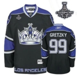 Los Angeles Kings #99 Wayne Gretzky Black Third 2014 Stanley Cup Champions Stitched NHL Jersey