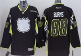 San Jose Sharks #88 Brent Burns Black 2015 All Star Stitched NHL Jersey