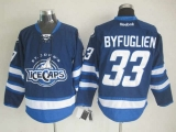 Winnipeg Jets #33 Dustin Byfuglien Dark Blue St