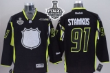 Tampa Bay Lightning #91 Steven Stamkos Black 2015 All Star 2015 Stanley Cup Stitched NHL Jersey