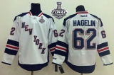 New York Rangers #62 Carl Hagelin White 2014 Stadium Series With Stanley Cup Finals Stitched NHL Jersey