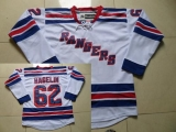 New York Rangers #62 Carl Hagelin White Road Stitched NHL Jersey