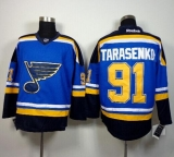 St Louis Blues #91 Vladimir Tarasenko Light Blue Home Stitched NHL Jersey