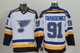 St Louis Blues #91 Vladimir Tarasenko White Stitched NHL Jersey
