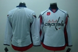 Washington Capitals Blank White 40th Anniversary Stitched NHL Jersey