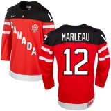 Olympic CA 12 Patrick Marleau Red 100th Anniversary Stitched NHL Jersey