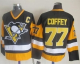 Pittsburgh Penguins #77 Paul Coffey Black CCM Throwback Stitched NHL Jersey