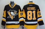 Pittsburgh Penguins #81 Phil Kessel Black Alternate Stitched NHL Jersey