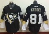 Pittsburgh Penguins #81 Phil Kessel Black Home Stitched NHL Jersey