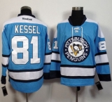 Pittsburgh Penguins #81 Phil Kessel Light Blue Alternate Stitched NHL Jersey