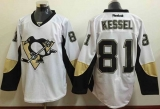 Pittsburgh Penguins #81 Phil Kessel White Away Stitched NHL Jersey