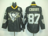Pittsburgh Penguins #87 Sidney Crosby Black Ice Stitched NHL Jersey